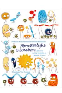 Monsterlijke microben kleurplaat