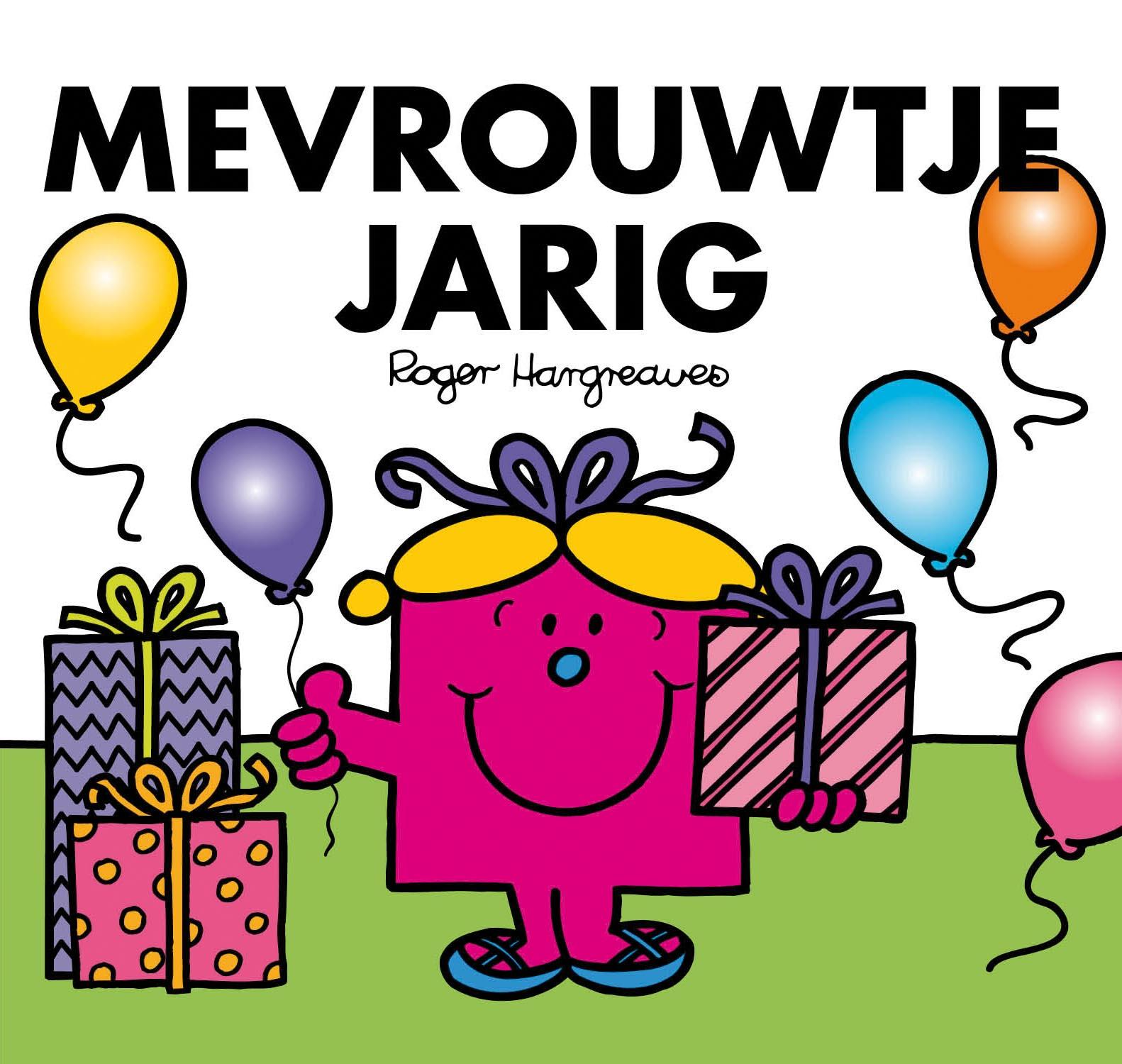 jarig afbeelding Mevrouwtje Jarig | De leukste kinderboeken jarig afbeelding